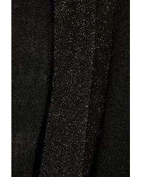 DKNY Black Cozy Silk-blend Wrap Cardigan