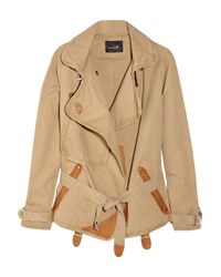 Isabel Marant | Brown Belted Jacket | Lyst