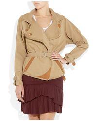 Isabel Marant | Brown Belted Jacket | Lyst