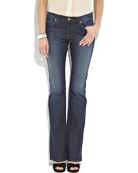 J Brand Blue Bailey Mid-rise Bootcut Jeans