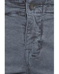 J Brand   Blue Houlihan Low-rise Skinny Cargo Pants   Lyst