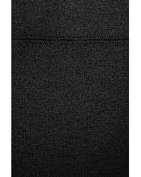 James Perse Black Stretch French Terry Maxi Skirt