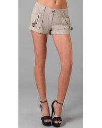 L.A.M.B. | Natural Trouser Short | Lyst