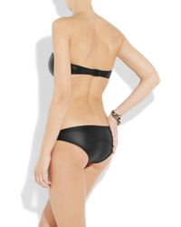 Lisa Marie Fernandez - Black The Natalie Strapless Bikini - Lyst