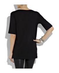 Markus Lupfer - Black Sinner Cotton T-shirt - Lyst