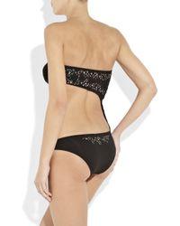 Melissa Odabash Black Phuket Cutout Swimsuit