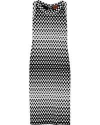 Missoni | Black Zig-zag Knit Dress | Lyst