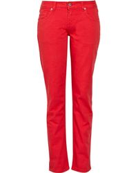 Paul & Joe | Red Jacoue Mid-rise Straight-leg Jeans | Lyst