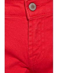 Paul & Joe - Red Jacoue Mid-rise Straight-leg Jeans - Lyst