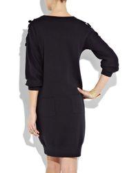 Sonia by Sonia Rykiel - Black Paillette-embellished Sweater Dress - Lyst