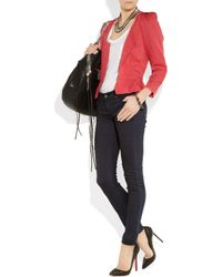 Textile Elizabeth and James Blue Debbie Mid-rise Skinny Jeans