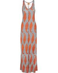 Tory Burch | Multicolor Printed Day Dress | Lyst