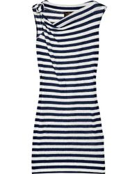 Vivienne Westwood Anglomania | Blue Dione Striped Jersey Dress | Lyst