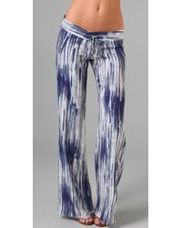 Georgie - Blue St. Barts Tie Dye Pants - Lyst