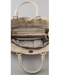 Marc By Marc Jacobs | Natural Ozzie Square Lucy Bag | Lyst