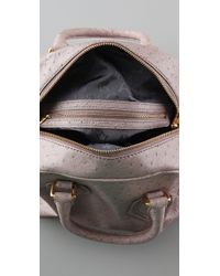 Marc By Marc Jacobs - Purple Ozzie Square Baby Aiden Bag - Lyst