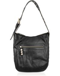 Temperley London - Black Aurora Studded Leather Shoulder Bag - Lyst