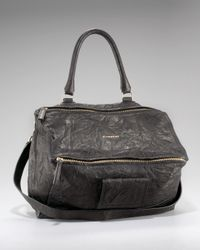 Givenchy | Gray Pandora Shoulder Bag, Large | Lyst