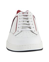 Gucci | White Leather Tennis Shoes for Men | Lyst