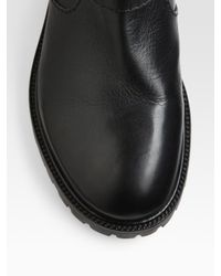 Marc By Marc Jacobs Black Workwear Ankle Boots
