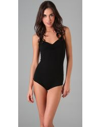 Rachel Pally | Black Cami Bodysuit | Lyst