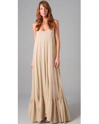 Rachel Pally Natural Dove Full Maxi Dress