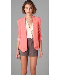 Rebecca Minkoff | Pink Becky Jacket | Lyst