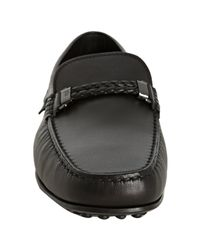 Tod's | Black City Side Buckle Driving Shoes for Men | Lyst