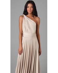 Twobirds - Natural Long Convertible Dress - Lyst