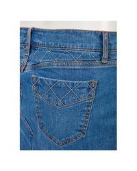 Genetic Denim Blue The Chloe Long Skirt