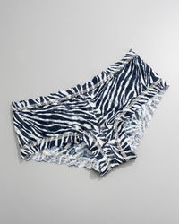 Hanky Panky | Black Signature Lace Zebra-print Boy Shorts | Lyst