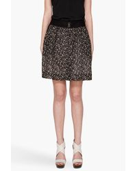 Rag & Bone Black The Foxberry Skirt
