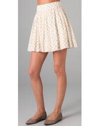 Club Monaco | Natural Kolina Skirt | Lyst