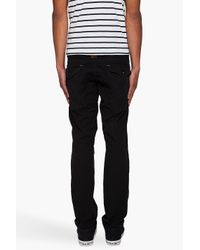 G-Star RAW Black General Tapered Cargos for men