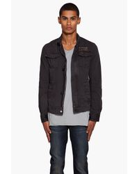 G-Star RAW Black Longshore Jacket for men