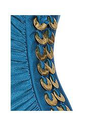 Gottex - Bondi Blue Cimaron Washer Ring Detail One Piece Swimsuit - Lyst