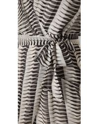 Mike Gonzalez | Black Pilar Wrap Dress | Lyst