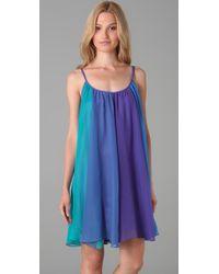 Free People   Blue Rainbow Sorbet Dress in Summer Sea   Lyst