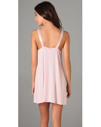 Hanky Panky | Pink Modal Chemise | Lyst
