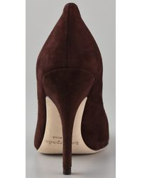 kate spade new york Brown Licorice Suede Pumps