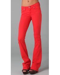 Rag & Bone | Red Elephant Bell Jeans | Lyst