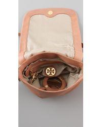 Tory Burch Pink Tallis Mini Moonlight Messenger Bag