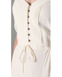 Twelfth Street Cynthia Vincent White Tiered Cami Maxi Dress