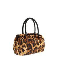 Ferragamo - Multicolor Vitello Leather Safari Boston Bag - Lyst