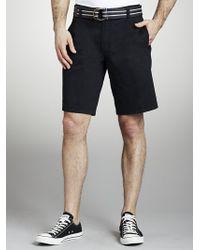 John Lewis | Blue Men Essential Chino Shorts Navy for Men | Lyst