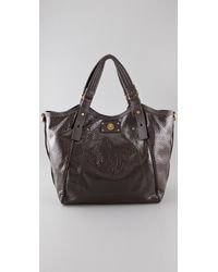 Marc By Marc Jacobs Quilted Logo Tote - Black
