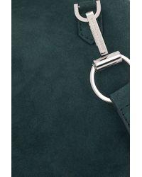 Alexander Wang - Green Marion Suede Shoulder Bag - Lyst