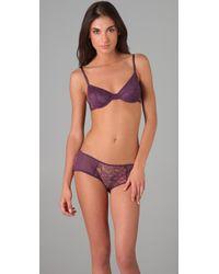 Kiki de Montparnasse - Purple Ingenue Boy Shorts - Lyst