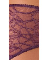 Kiki de Montparnasse | Purple Ingenue Boy Shorts | Lyst
