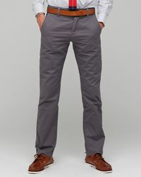 Life After Denim | Gray Lt Weight Slim Fit Chino for Men | Lyst